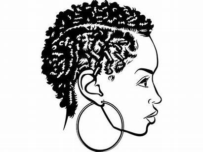 Queen Nubian Woman Svg Classy Diva Afro
