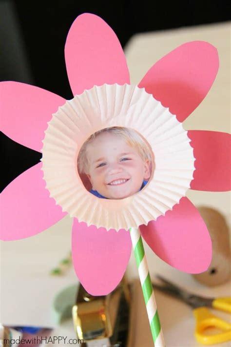 picture flower kids craft   printable flower