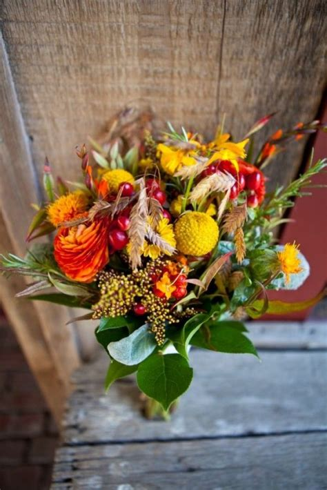 romantic fall wedding bouquets style motivation