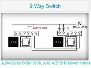 Unorthodox 2 Way Wiring  Livolo Switch