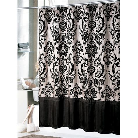 black and white bedding ideas shower curtain