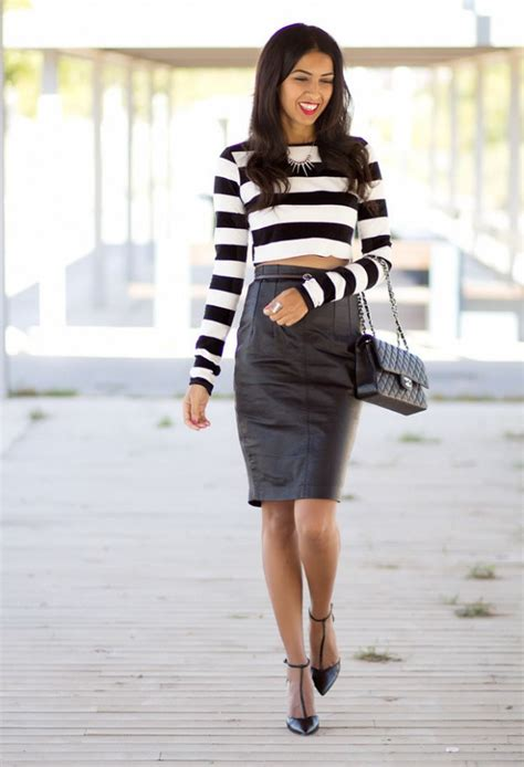 How to Wear Pencil Skirt Tips and Outfit Ideas - Style ...