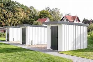 Gerätehaus Metall Flachdach : ger tehaus metall uninorm technic ag ~ Michelbontemps.com Haus und Dekorationen