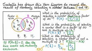 Video  Using Venn Diagrams To Calculate Probability