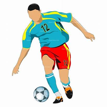 Soccer Clipart Clip Player Playing Clipartpanda Play