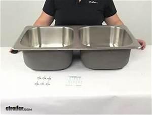 Better Bath Double Bowl Rv Kitchen Sink  8 U0026quot  Long X