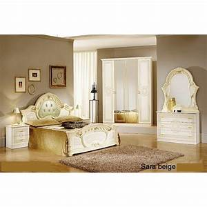 Chambre Coucher Italienne Baroque Panel Meuble