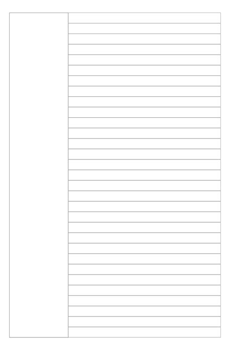 Page Template 8 Best Images Of Blank Notes Page Printable Pdf Template