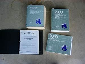 2000 F250 Service Manuals And Owner Guides W  Diesel