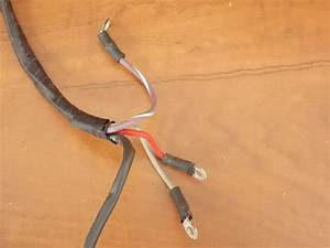 Omc Johnson Evinrude Motor Cable Assembly 1989