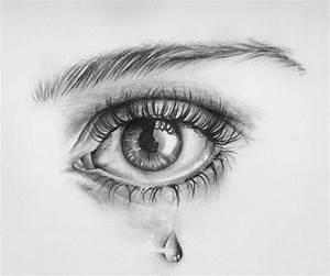 Crying Eye #sketch #art #tear   Art Inspiration ...