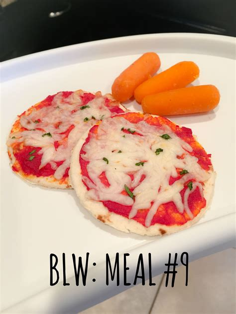 Baby Pizzas Perfect For Baby Led Weaning 6 Months I