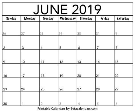 blank june calendar printable beta calendars