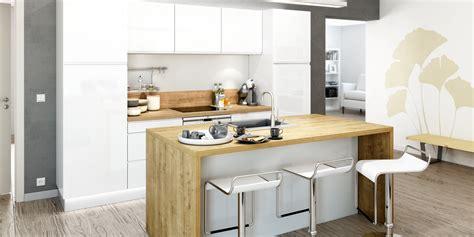 image de cuisine ouverte cuisine ouverte ilot central cuisine avec lot types de