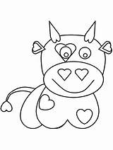 Coloring Pages Cow Games Valentines Printable Cliparts Bowling Valentine Sheets Getcoloringpages Bull Advertisement Town 321coloringpages sketch template
