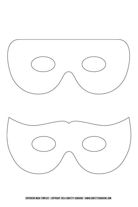 super hero mask  template    hero