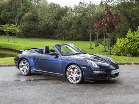 blue porsche convertible stock tom hartley jnr