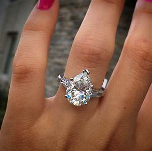 wedding bands for pear cut engagement rings gem hunt With pear wedding ring