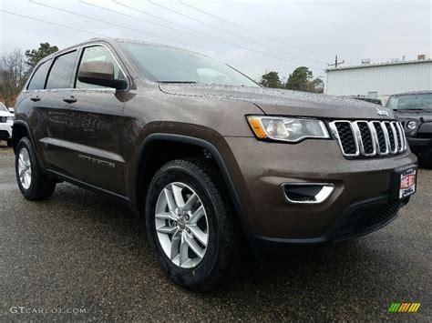 brown jeep grand cherokee 2017 2017 walnut brown metallic jeep grand cherokee laredo 4x4