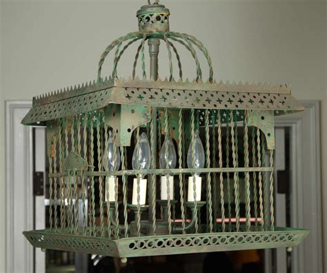 antique bird cage light at 1stdibs
