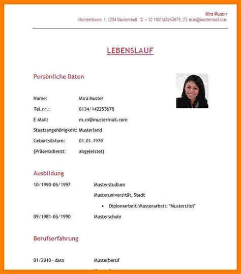 Lebenslauf Schüler by 11 Aufbau Lebenslauf Sch 252 Ler Asgcu