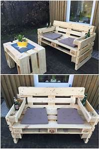 best 25 pallet outdoor furniture ideas on pinterest diy With easy to make furniture ideas