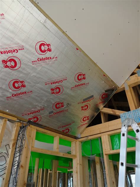 Ceiling Boarding by V A S Home Build Boarding Ceilings Floor Vaulted