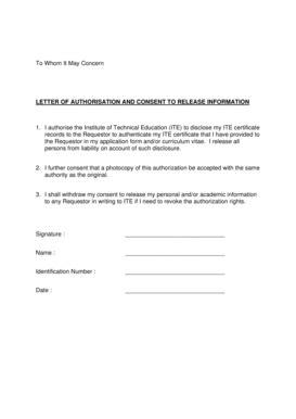concern letter sample  forms