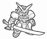 Gundam Astray Mobilesuitgio Kolorowanki sketch template