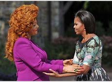Chantal Biya, the First Lady of Cameroon, Has Amazing Hair