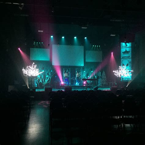 cool cold church stage design ideas