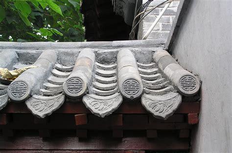 fileroof tiles   hutong house  beijing chinajpg