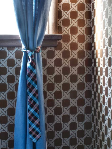 clever curtain tie backs home  modern