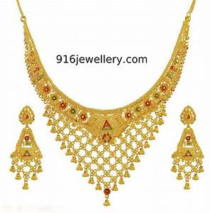 Gold Fancy Necklaces | SUDHAKAR GOLD WORKS