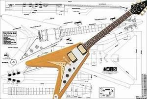Gibson Flying V Korina U00ae Electric Guitar Plan