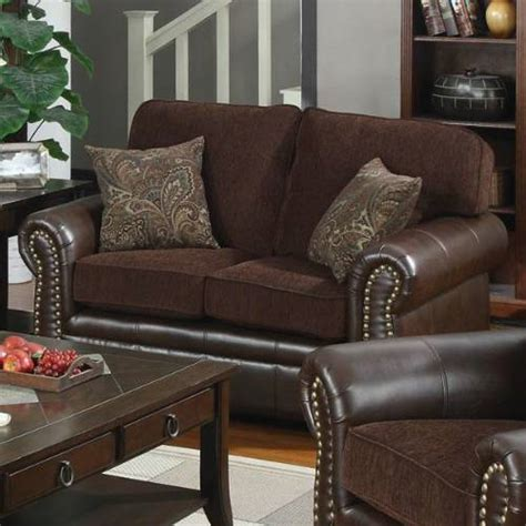 sofa 321 velma coklat combination florence chocolate brown transitional style sofa set