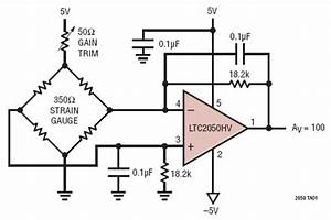 Differential Bridge Amplifier Circuit Collection