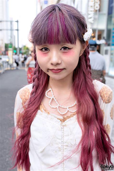 manapyon ririan  harajuku  vintage fashion cute