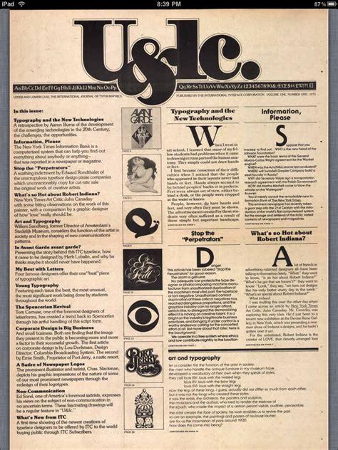 download historic typographic magazine u lc for design inspiration