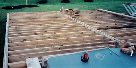 deck joist hangers or not jpsdomain org plastic deck pictures