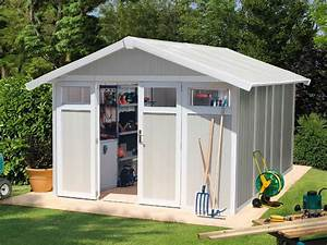 Abri De Jardin En Pvc : abri de jardin pvc utility 11 gris vert direct abris ~ Edinachiropracticcenter.com Idées de Décoration