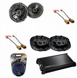 Kicker Car Speakers : fits nissan frontier 05 10 kicker cs654 cs6934 upgrade ~ Jslefanu.com Haus und Dekorationen