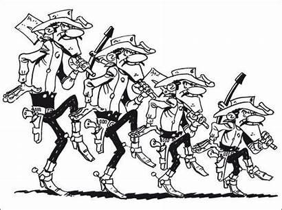 Dalton Daltons Coloriage Navi Avatar Cartoon Colorear