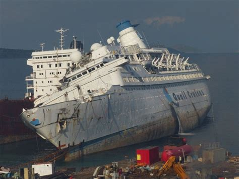 Pacific Princess Love Boat Scrapped former pacific princess scrapping begins maritime