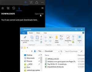 Edge Microsoft Windows 10 Downloads