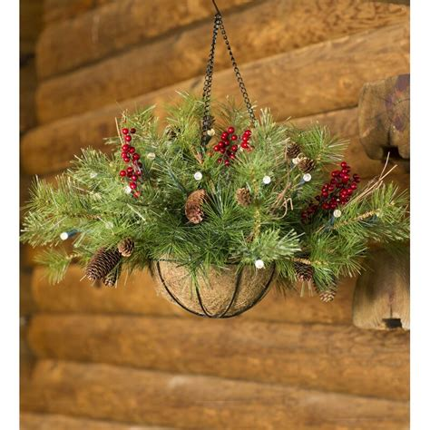 plow hearth lighted outdoor battery operated holiday