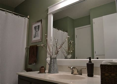 Bathroom Mirror Frame Ideas by Framed 36x68 Bathroom Mirror Bathroom Mirror Frame