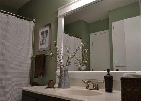 Framed Bathroom Mirrors Ideas by Framed 36x68 Bathroom Mirror Bathroom Mirror Frame
