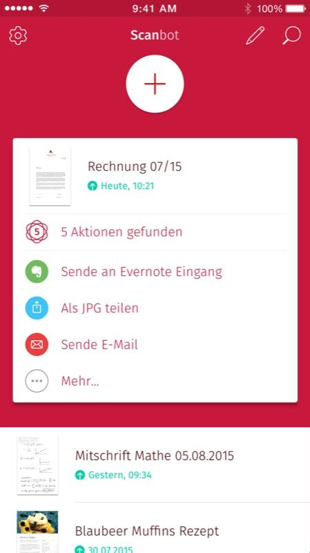 scanbot  update der beliebten scanner app liefert ordner
