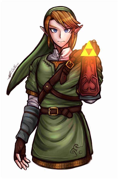 Link From Legend Of Zelda Twilight Princess In